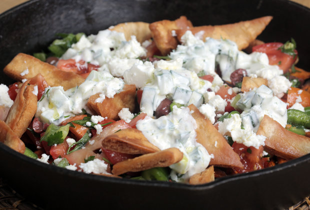 These Loaded Mediterranean Fries Are a Perfect Excuse to Eat Potatoes for Dinner
