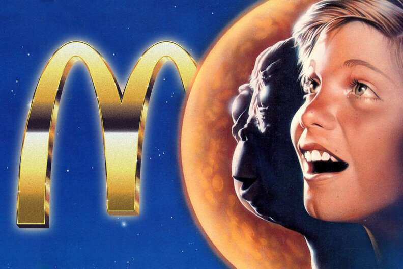 mac & me mcdonalds movie