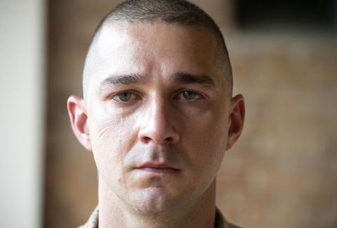 Shia LaBeouf man down box office bomb