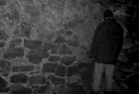 Basement scene from The Blair Witch Project 1999