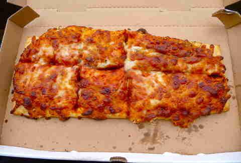 Dodger Stadium Pizza
