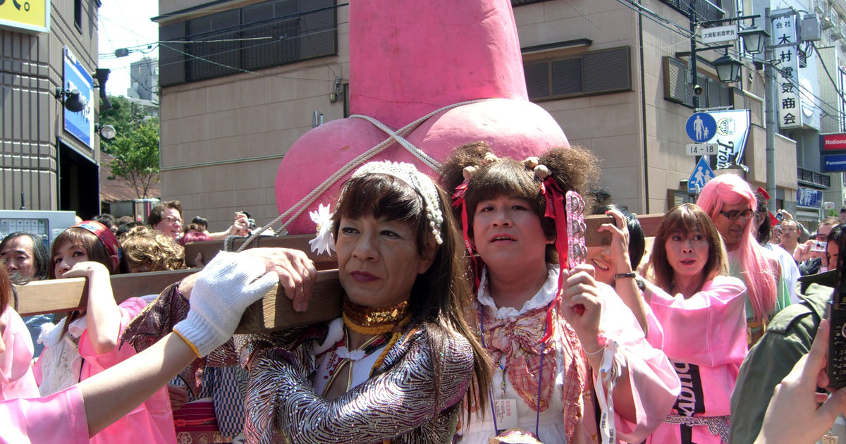 Japan's Penis Festival Is Very Real and Very NSFW