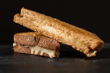 Havarti cheese grilled cheese