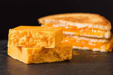 Sharp cheddar grilled cheese