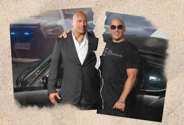 Everything We Know About The Rock and Vin Diesel's Furious Feud