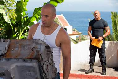 fast and furious 6 vin diesel the rock