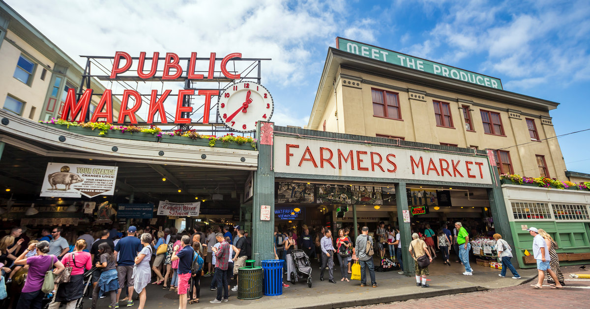 Things to do in seattle before you die an emerald city for Fish market indianapolis