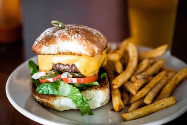 blue's cajun kitchen burger