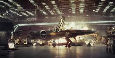 star wars last jedi trailer resistance base explosion