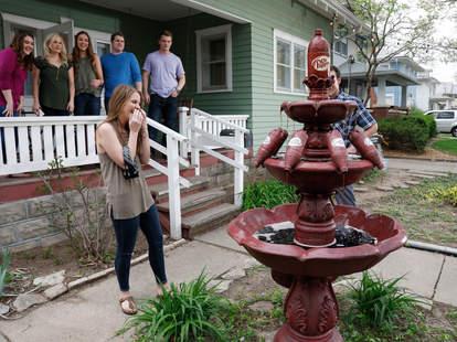 dr pepper fountain