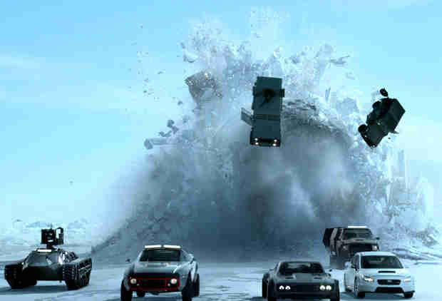 'The Fate of the Furious' Stuntmen Reveal How They Pulled Off the Big Ice Chase