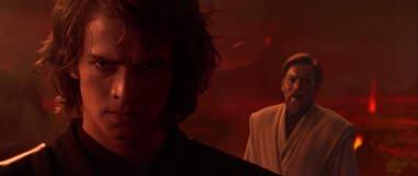 anakin skywalker obi-wan fight revenge of the sith