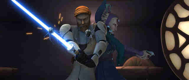 obi wan and satine kryze