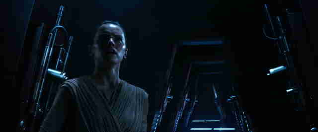 rey force awakens forceback flashback