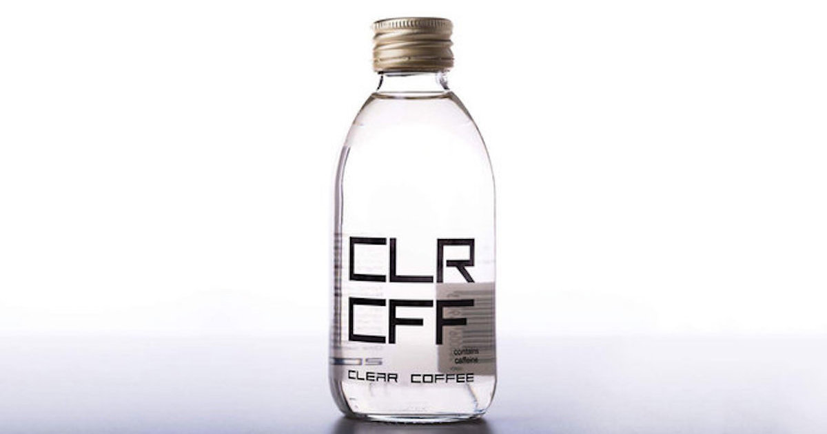 CLR CFF Is a New Coffee Brand That's Completely Clear - Thrillist