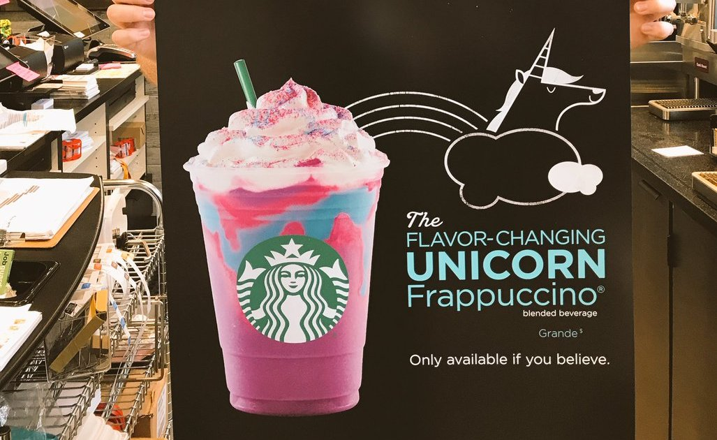 Starbucks Unicorn Frappuccino Reportedly Coming Out This Week - Thrillist