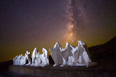 Rhyolite and Goldwell Open Air Art Museum