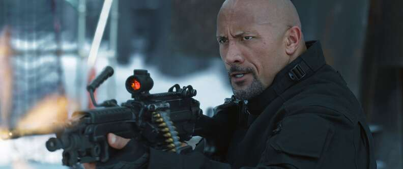 The Rock Fate of the Furious