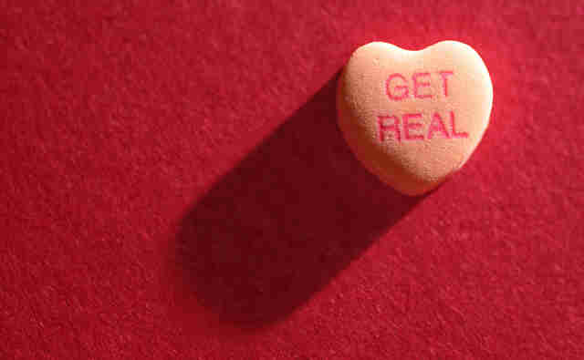 candy heart valentine's day
