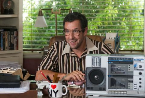 adam sandler in sandy wexler on netflix