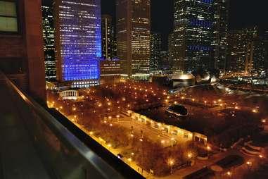 Millennium park at Night