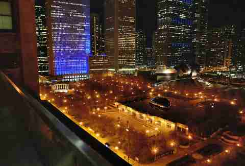 Millennium park at Night
