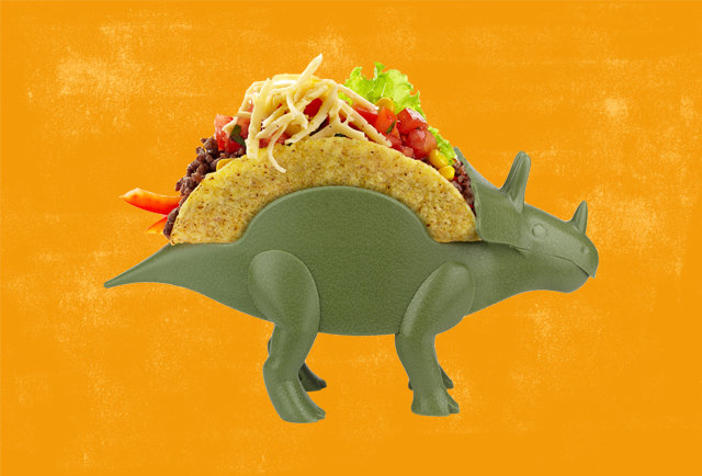 TriceraTACO Is the Absurd Dinnerware Your Life Is Missing