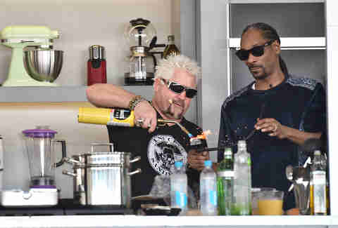 Guy Fieri Snoop Dog