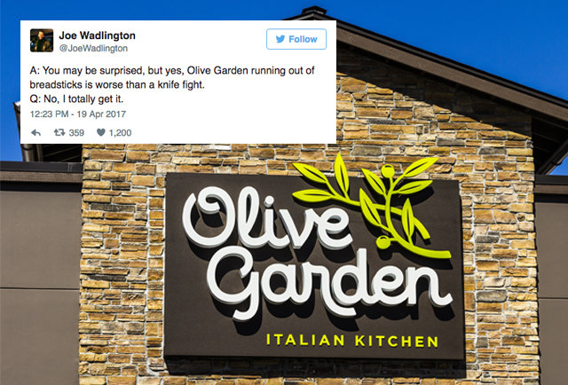 Date With Ex Manager Of Olive Garden Times Square Reveals Secrets    Thrillist