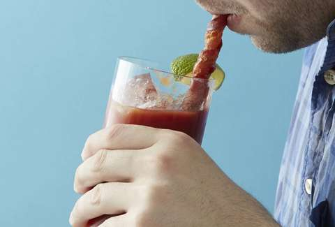 Bacon Straw Bloody Mary