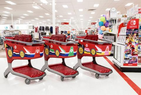 48ce3551c8 Target Stores Given Super Mario Makeovers For Release of Mario Kart ...