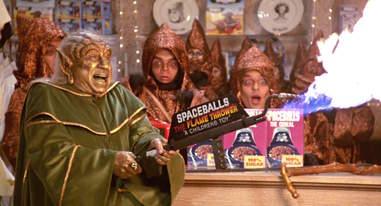 spaceballs the flamethrower - best movies props