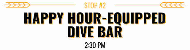 Happy Hour Dive Bar