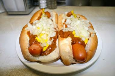 Coney Dog at Lafayette