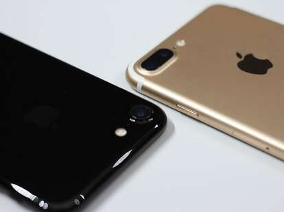 iphone 7 close-up