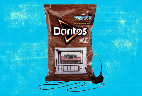 doritos guardians of the galaxy bag
