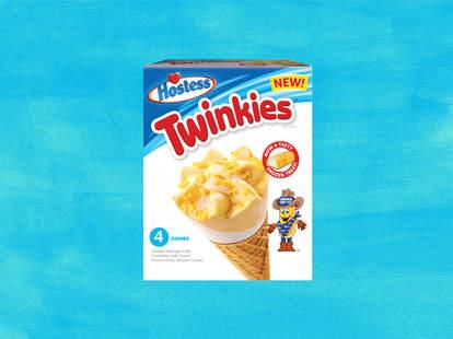 Twinkie ice cream cones