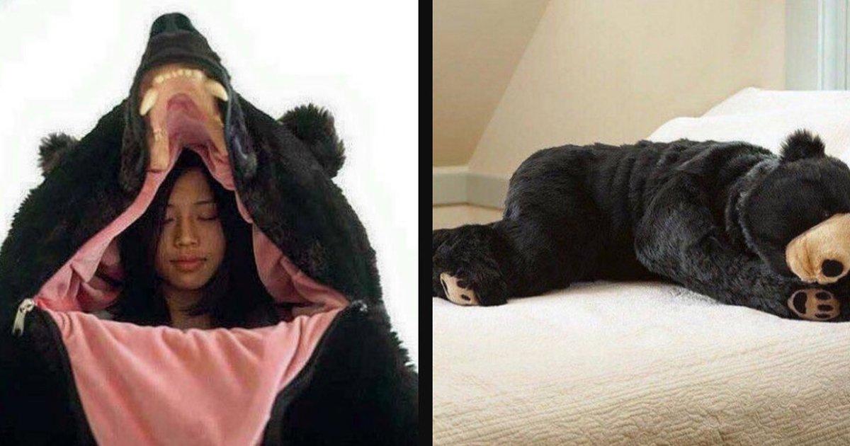 Someone Created A Bear Sleeping Bag For All Your Hibernation Needs - The  Dodo d2bbb1f57
