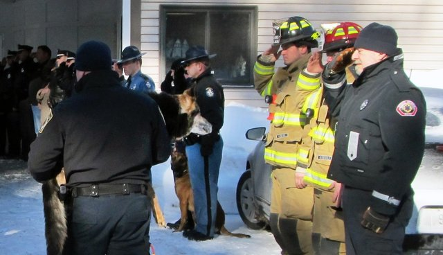 Ailing K9 Officer Honored With A Heartfelt Final Farewell