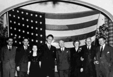 Will Judy and fellow-founders of the DWAA, 1935