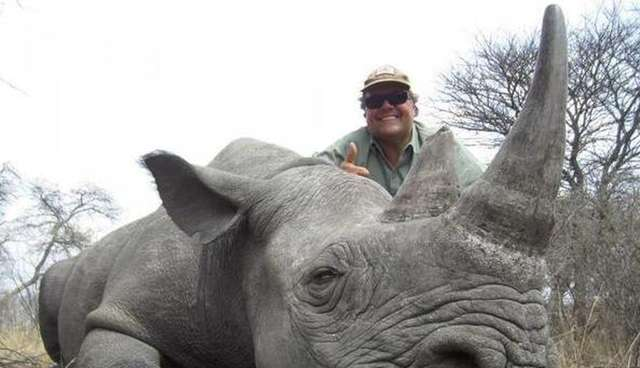 Image of: Trump Jimmy Johns Owner Exposed For Hunting Endangered Animals The Dodo Jimmy Johns Owner Exposed For Hunting Endangered Animals The Dodo