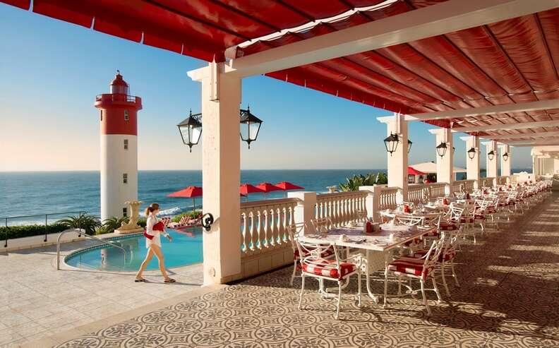 The Oyster Box Hotel Ocean Terrace