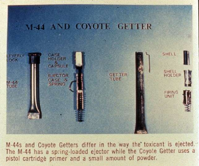 Break down of M44 device used by USDA