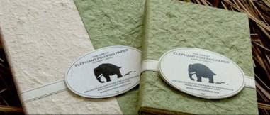 Elephant Poo Poo Paper