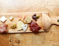 Cheese plate at Leroy's Kitchen + Lounge