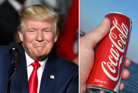 1e7f5867cb Donald Trump's White House Butler Brings Coke at the Push of a ...