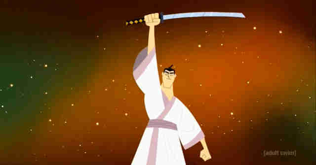 gods gave Samurai Jack his sword back