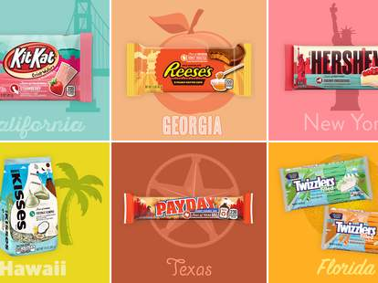 hershey's flavors of america collection