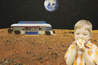 comfort food in space