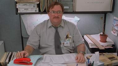 the red stapler